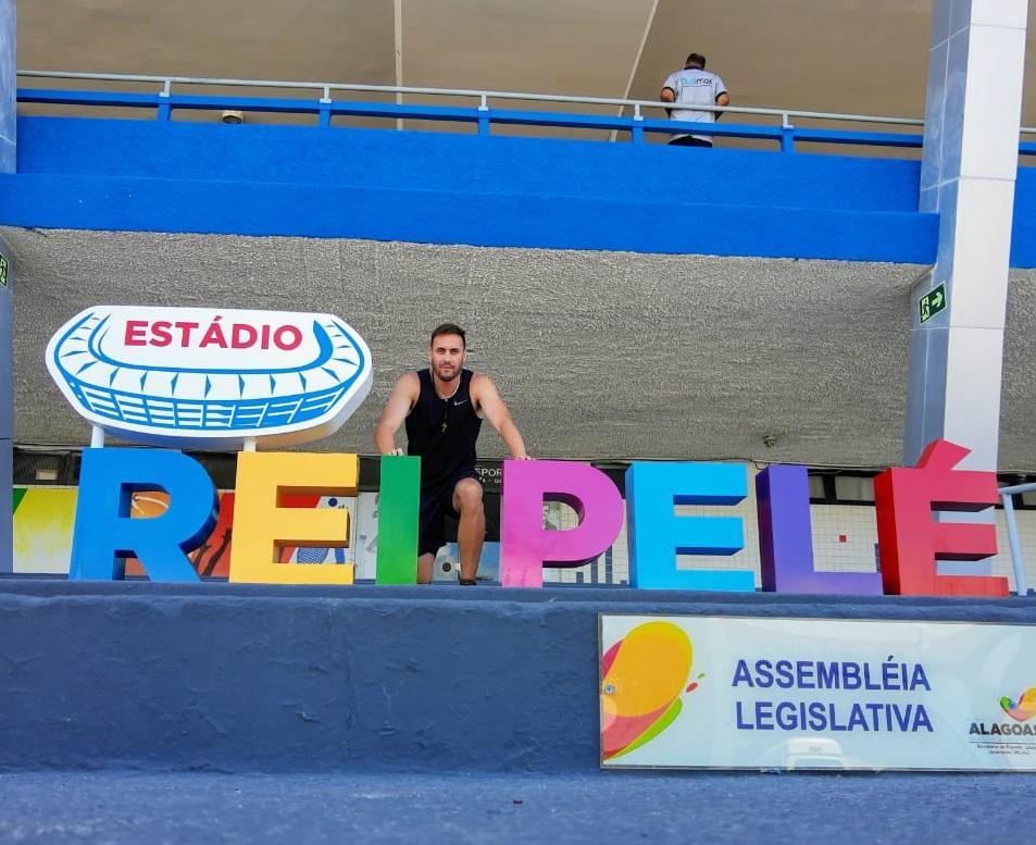 Ariel Bensi en Brasil
