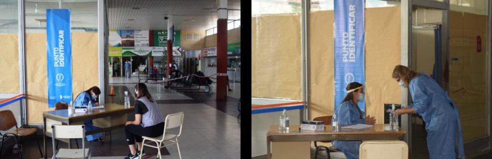 Rio Cuarto nuevo punto de testeo en la Terminal de Ómnibus