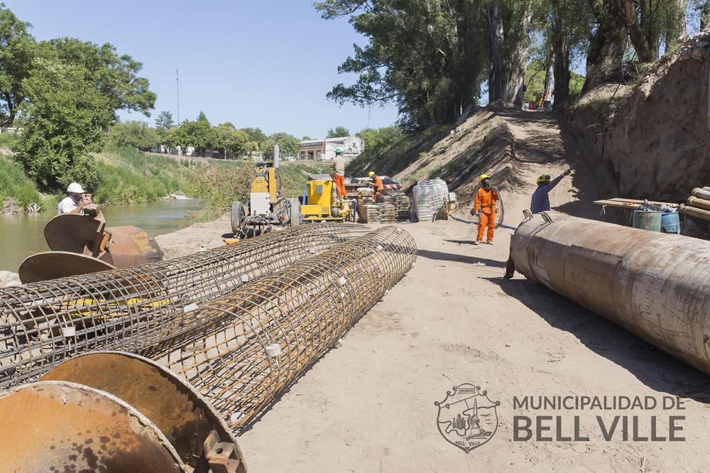 Avanzan obras en Bell Ville