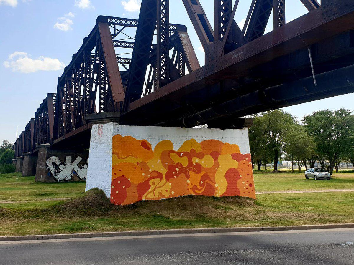 Mural de Naranja